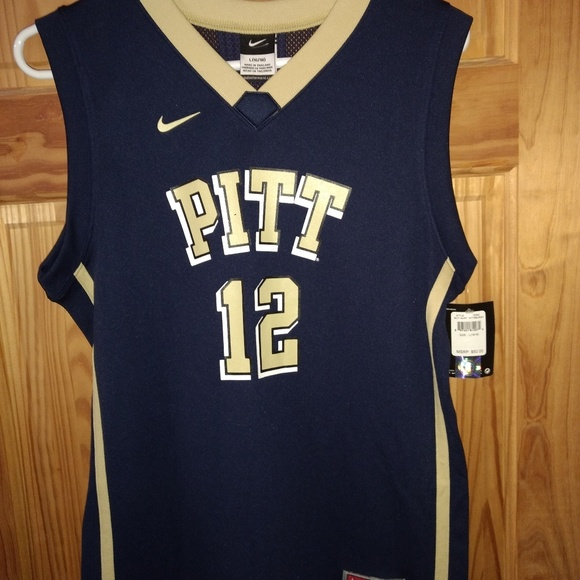 timeless design fc87c 3ca71 NIKE Pittsburgh Panthers Basketball Jersey #12 NWT